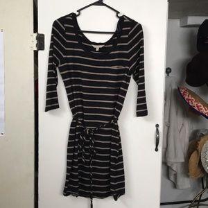 Banana Republic comfy striped dress!